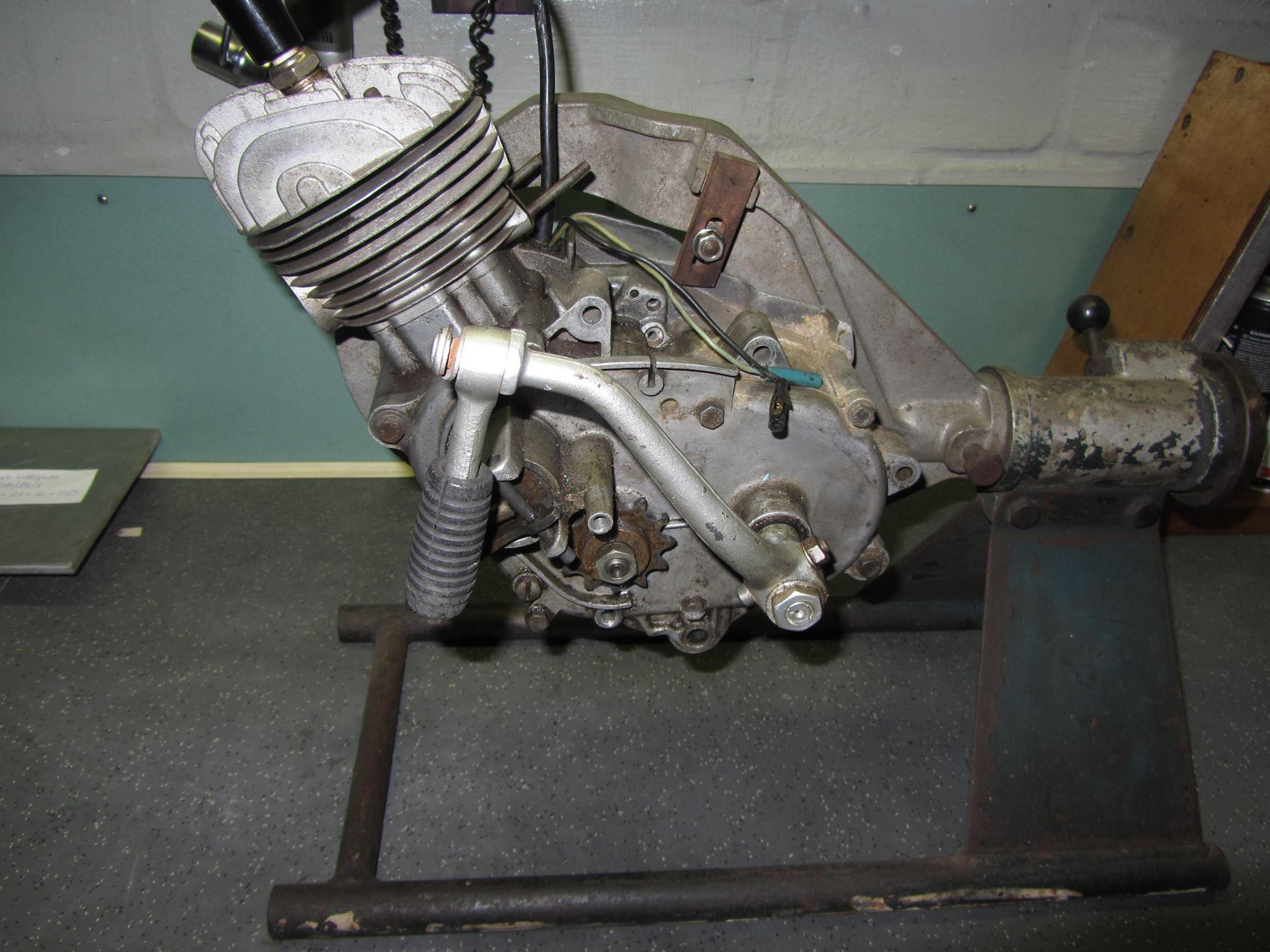 a klasse motor absenken